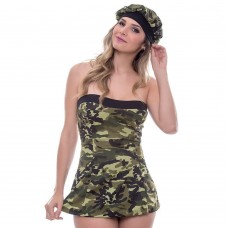 Fantasia Militar Vestido